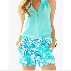 Lilly Pulitzer Buttercup Shorts In a Pinch